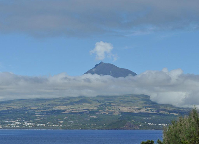 Mount Pico - the highest mountain in Portugal