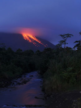 The Volcanoes of Costa Rica